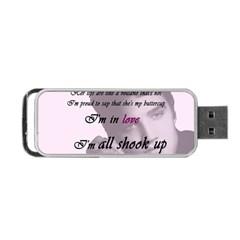 Elvis Presley   All Shook Up Portable Usb Flash (one Side)