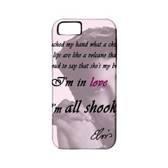 Elvis Presley   All Shook Up Apple Iphone 5 Classic Hardshell Case (pc+silicone)