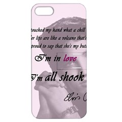 Elvis Presley   All Shook Up Apple Iphone 5 Hardshell Case With Stand