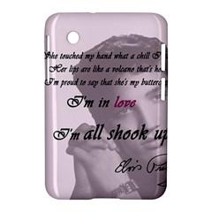 Elvis Presley   All Shook Up Samsung Galaxy Tab 2 (7 ) P3100 Hardshell Case
