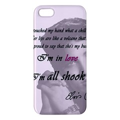 Elvis Presley   All Shook Up Iphone 5s/ Se Premium Hardshell Case
