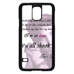 Elvis Presley   All Shook Up Samsung Galaxy S5 Case (black)