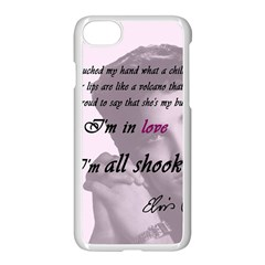 Elvis Presley   All Shook Up Apple Iphone 7 Seamless Case (white)