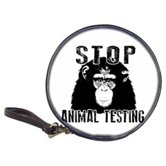 Stop Animal Testing   Chimpanzee  Classic 20 Cd Wallets