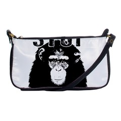 Stop Animal Testing   Chimpanzee  Shoulder Clutch Bags