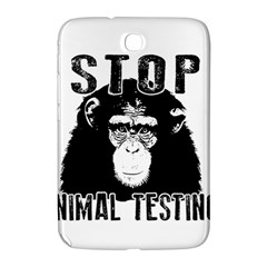 Stop Animal Testing   Chimpanzee  Samsung Galaxy Note 8 0 N5100 Hardshell Case