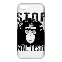Stop Animal Testing   Chimpanzee  Apple Iphone 5c Hardshell Case