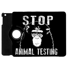 Stop Animal Testing   Chimpanzee  Apple Ipad Mini Flip 360 Case