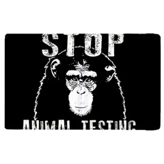 Stop Animal Testing   Chimpanzee  Apple Ipad Pro 12 9   Flip Case
