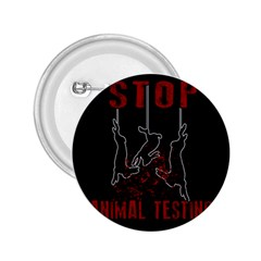 Stop Animal Testing   Rabbits  2 25  Buttons