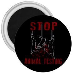 Stop Animal Testing   Rabbits  3  Magnets