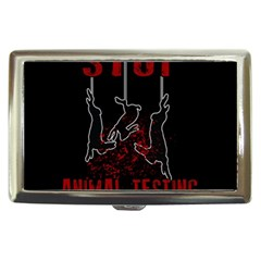 Stop Animal Testing   Rabbits  Cigarette Money Cases