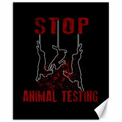 Stop Animal Testing   Rabbits  Canvas 16  X 20