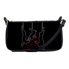 Stop Animal Testing   Rabbits  Shoulder Clutch Bags