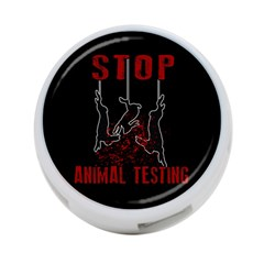 Stop Animal Testing   Rabbits  4 Port Usb Hub (one Side)