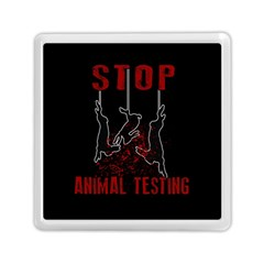 Stop Animal Testing   Rabbits  Memory Card Reader (square)