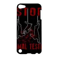 Stop Animal Testing   Rabbits  Apple Ipod Touch 5 Hardshell Case