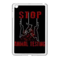 Stop Animal Testing   Rabbits  Apple Ipad Mini Case (white)
