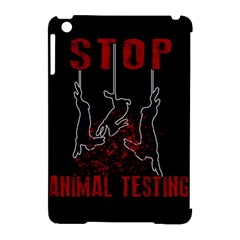 Stop Animal Testing   Rabbits  Apple Ipad Mini Hardshell Case (compatible With Smart Cover)