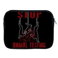 Stop Animal Testing   Rabbits  Apple Ipad 2/3/4 Zipper Cases