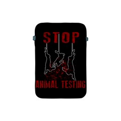 Stop Animal Testing   Rabbits  Apple Ipad Mini Protective Soft Cases