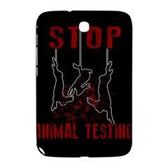 Stop Animal Testing   Rabbits  Samsung Galaxy Note 8 0 N5100 Hardshell Case