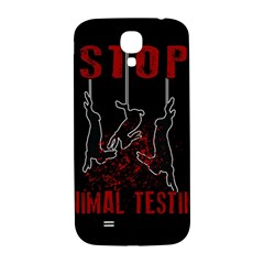 Stop Animal Testing   Rabbits  Samsung Galaxy S4 I9500/i9505  Hardshell Back Case