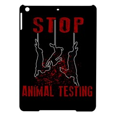 Stop Animal Testing   Rabbits  Ipad Air Hardshell Cases