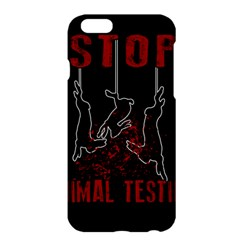 Stop Animal Testing   Rabbits  Apple Iphone 6 Plus/6s Plus Hardshell Case