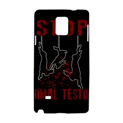 Stop Animal Testing   Rabbits  Samsung Galaxy Note 4 Hardshell Case