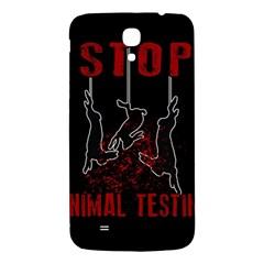 Stop Animal Testing   Rabbits  Samsung Galaxy Mega I9200 Hardshell Back Case