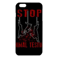 Stop Animal Testing   Rabbits  Iphone 6 Plus/6s Plus Tpu Case