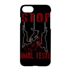 Stop Animal Testing   Rabbits  Apple Iphone 8 Hardshell Case