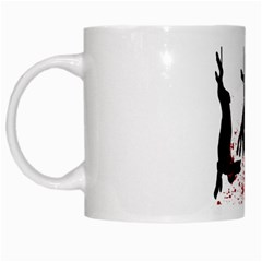 Stop Animal Testing   Rabbits  White Mugs