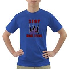 Stop Animal Testing   Rabbits  Dark T Shirt