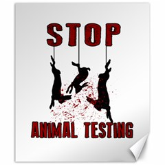 Stop Animal Testing   Rabbits  Canvas 20  X 24