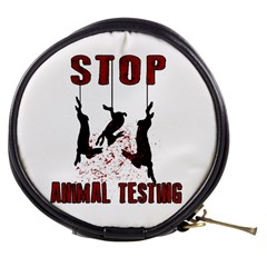 Stop Animal Testing   Rabbits  Mini Makeup Bags