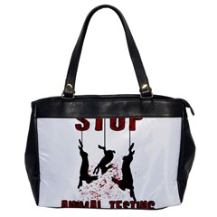 Stop Animal Testing   Rabbits  Office Handbags
