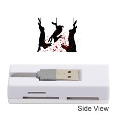 Stop Animal Testing   Rabbits  Memory Card Reader (stick)