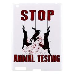 Stop Animal Testing   Rabbits  Apple Ipad 3/4 Hardshell Case