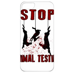 Stop Animal Testing   Rabbits  Apple Iphone 5 Classic Hardshell Case