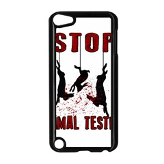 Stop Animal Testing   Rabbits  Apple Ipod Touch 5 Case (black)