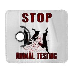 Stop Animal Testing   Rabbits  Galaxy S3 (flip/folio)