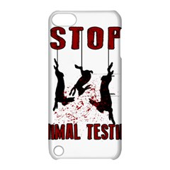 Stop Animal Testing   Rabbits  Apple Ipod Touch 5 Hardshell Case With Stand