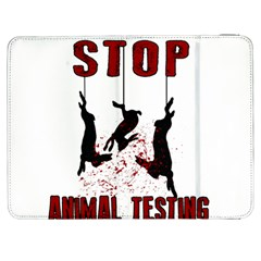 Stop Animal Testing   Rabbits  Samsung Galaxy Tab 7  P1000 Flip Case