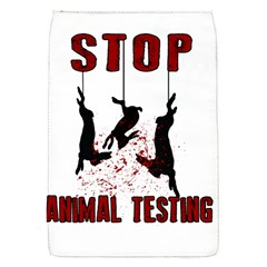 Stop Animal Testing   Rabbits  Flap Covers (s)