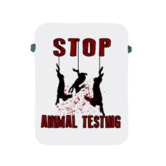 Stop Animal Testing   Rabbits  Apple Ipad 2/3/4 Protective Soft Cases