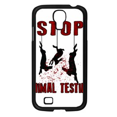 Stop Animal Testing   Rabbits  Samsung Galaxy S4 I9500/ I9505 Case (black)