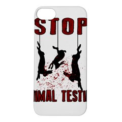 Stop Animal Testing   Rabbits  Apple Iphone 5s/ Se Hardshell Case