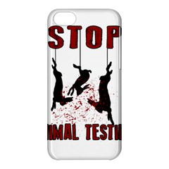 Stop Animal Testing   Rabbits  Apple Iphone 5c Hardshell Case